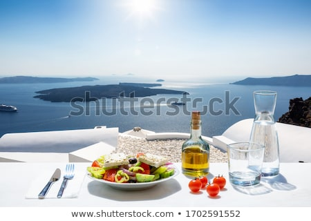 burada · brunch · yumurta · lahana · salatası - stok fotoğraf © badmanproduction