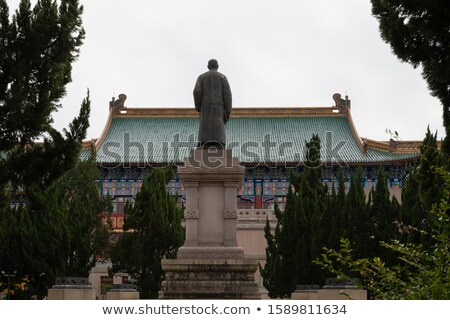 statue of Sun Yat-Sen Stock photo © elwynn