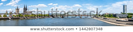 The riverside of Cologne Stock photo © jakatics