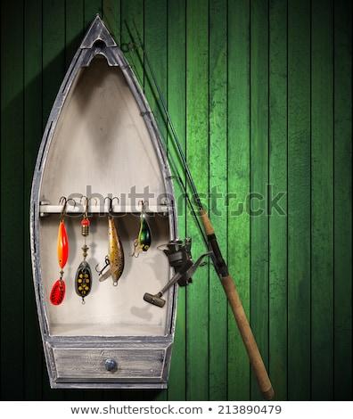 古い · 漁船 · 港 · キプロス · 空 · 夏 - ストックフォト © kirill_m