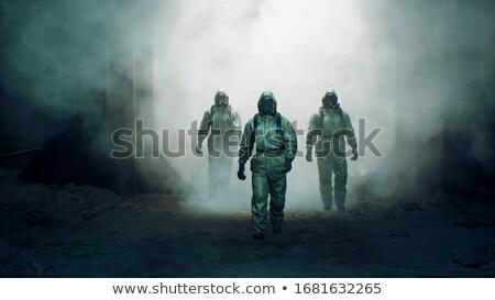 3D · fehér · emberek · felhő · biztonság · széf · doboz - stock fotó © elenarts
