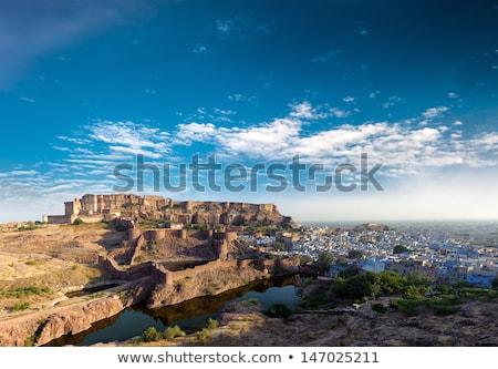форт Индия известный здании город стены Сток-фото © meinzahn