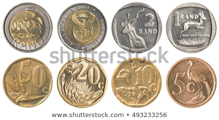 50 South african rand cents coin  Stock photo © michaklootwijk
