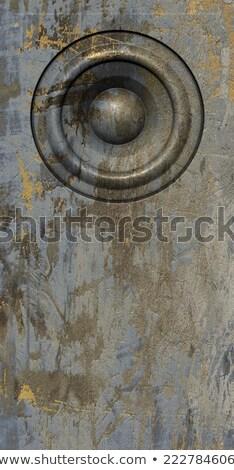 3d визуализации Гранж серый бежевый старые оратора Сток-фото © Melvin07
