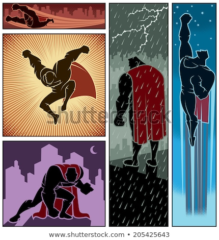 Comic Book Elements Vector Pack Stock photo © cajoer