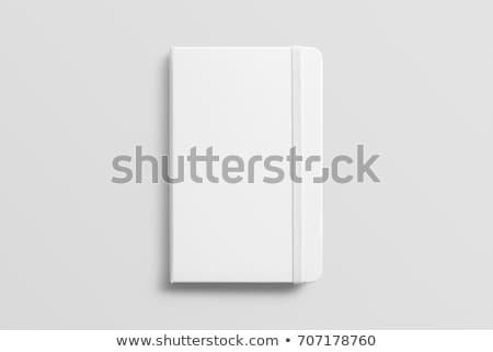notebook · fehér · izolált · 3D · kép · naptár - stock fotó © ISerg
