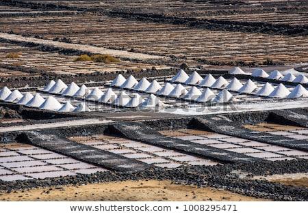 Испания · закат · соль · очистительный · завод · воды · промышленности - Сток-фото © meinzahn