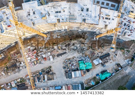 строительство · промышленности · производства · закат - Сток-фото © cherezoff