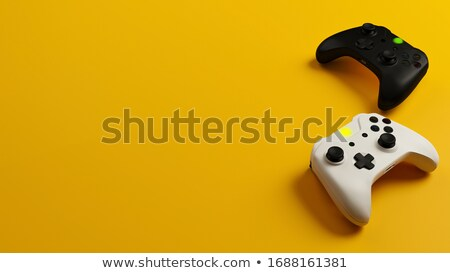 peace controller on black control console stock photo © tashatuvango