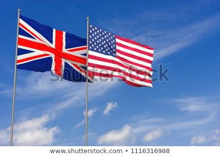 bandera · Reino · Unido · EUA · pueden · utilizado · comercio - foto stock © m_pavlov
