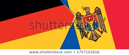 Alemania Moldavia banderas rompecabezas aislado blanco Foto stock © Istanbul2009