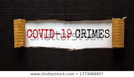 Fraud Torn Paper Concept Stock photo © ivelin