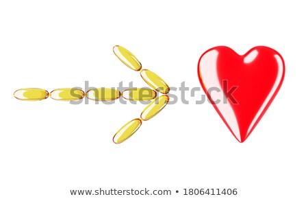 amor · dosis · drogas · forma · cápsula · decorativo - foto stock © danilin