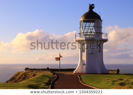 Stockfoto: Signpost At Northern Part Of New Zealand