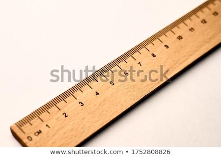 Legno righello misurazione sfondo arte strumento Foto d'archivio © bluering