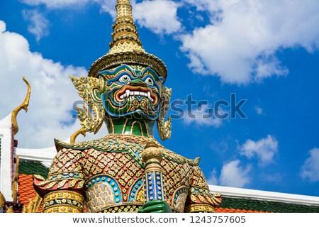 gigant · posąg · Bangkok · Tajlandia · twarz · architektury - zdjęcia stock © ssuaphoto