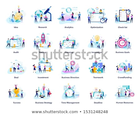 Business People Big Collection stock photo © Voysla