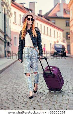 fashion art photo of a beautiful girls in boat stock photo © artfotodima