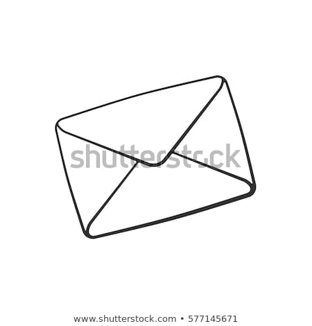 doodle email icon stock photo © pakete