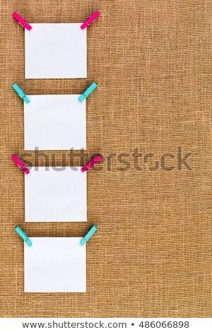 oito · branco · memorando · enforcamento · colorido - foto stock © ozgur