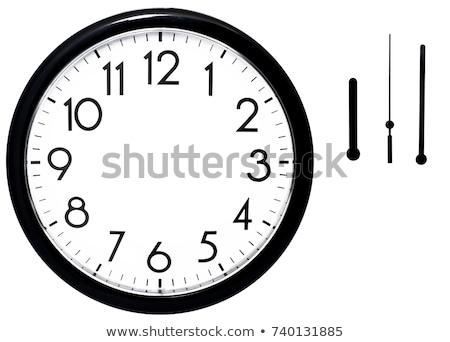 zaman · eylem · kronometre · beyaz · yalıtılmış · 3D - stok fotoğraf © oakozhan