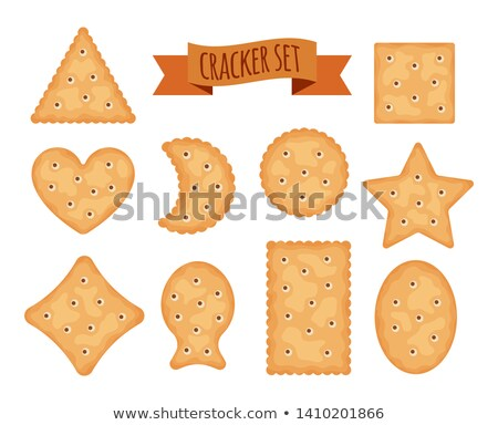 vector · establecer · colorido · chocolate · chip · cookies - foto stock © freesoulproduction