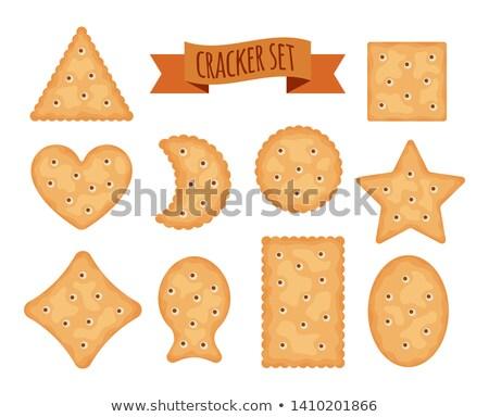 вектора набор красочный шоколадом печенье чипа Сток-фото © freesoulproduction