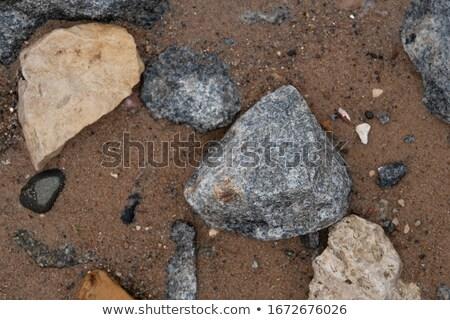 nagy · láva · fekete · absztrakt · kő · stúdió - stock fotó © Hofmeester