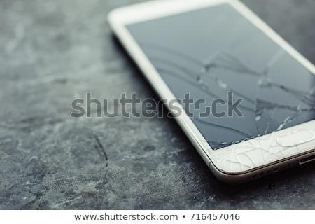 Uszkodzony Fotografia śrubokręt komórkowych Zdjęcia stock © AndreyPopov