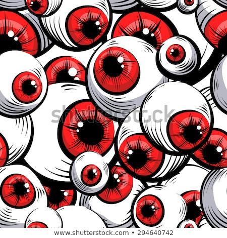красный · Iris · макроса · изолированный · белый · фон - Сток-фото © klss