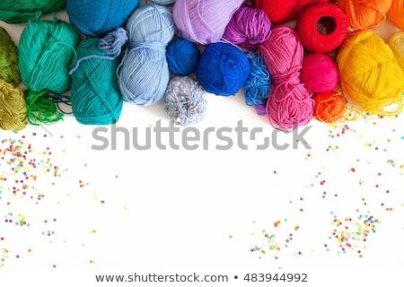 coloré · tricoté · texture · illustration · résumé - photo stock © yatsenko