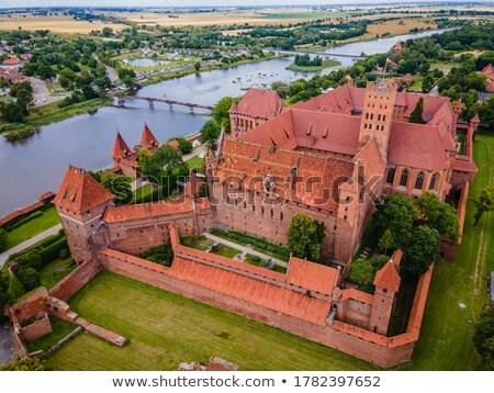 Castle of Teutonic Knights Order in Malbork, Poland stock photo © Xantana