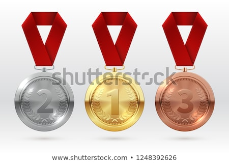 Golden Medal stock photo © pakete