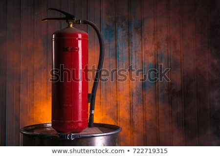 заброшенный · радиоактивный · отходов · ржавые · бомба · опасность - Сток-фото © elisanth