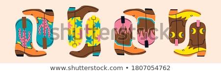 Vector flat colorful set of various cactus  Stock photo © curiosity