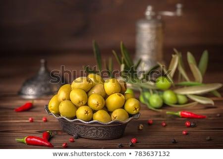köteg · palacsinták · fehér · tányér · izolált · konyha - stock fotó © digifoodstock