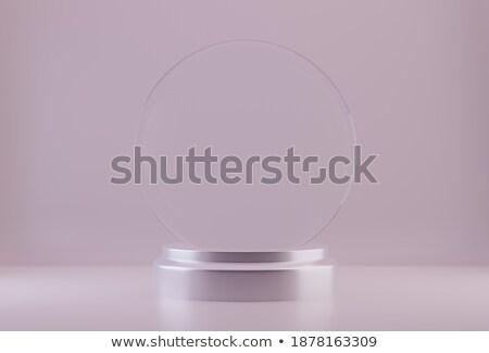 csillag · ikon · jég · izolált · fehér · üveg - stock fotó © user_11870380