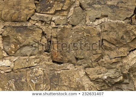 Fragmento montanas rocas luz del sol primavera sol Foto stock © Kotenko