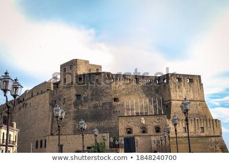 castelo · Nápoles · Itália · edifício · cidade · arquitetura - foto stock © photooiasson