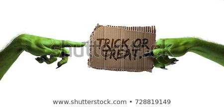 Foto stock: Creepy Horror Monster Zombie