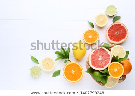 куча зрелый лимоны белый группа свежие Сток-фото © Digifoodstock