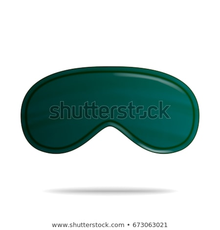 eye sleep mask vector isolated illustration classic sleeping mask stock photo © pikepicture