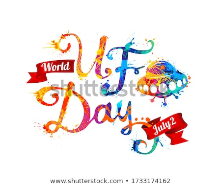2 july World UFO Day Stock photo © Olena