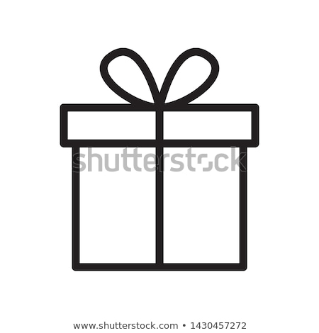Gifts, linear style  Stock photo © Olena