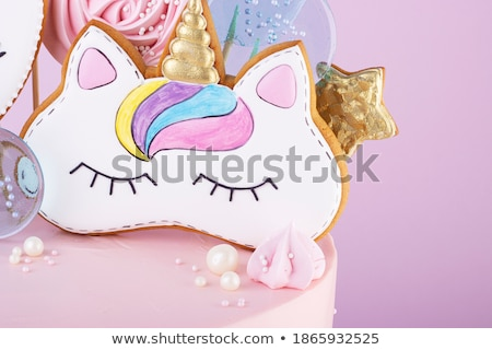 Two girls baking with icing sugar Stock photo © IS2