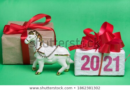 what comes next coloring christmas toys stock photo © olena