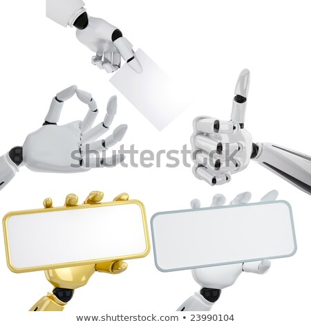 Robotique mains pouce up Photo stock © sommersby