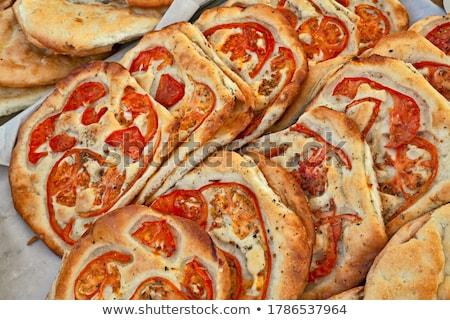 Tradicional toscano italiano pão branco farinha Foto stock © Digifoodstock