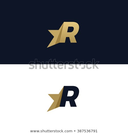 best letter r logo design set stock photo © krustovin