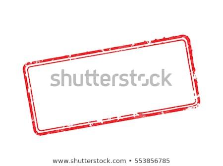 vide · caoutchouc · timbres · ensemble · texte · voir - photo stock © 5xinc